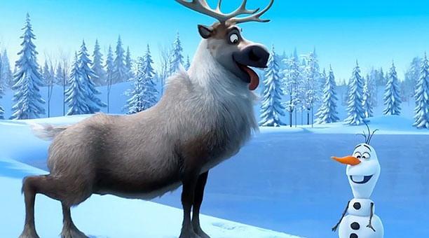 3D-мультфильм «Холодное сердце»