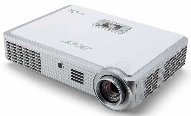 Портативный LED-проектор Acer K335: уже в России