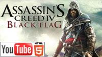 YouTube 3D-геймплей ролик к экшену Assassin's Creed IV: Black Flag