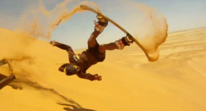 Экстремальный спорт в свежей YouTube 3D-видеоподборке