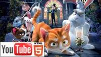 «Кот Гром и заколдованный дом»: русский трейлер на YouTube 3D
