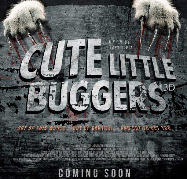 Постер к 3D-фильм «Cute Little Buggers 3D»