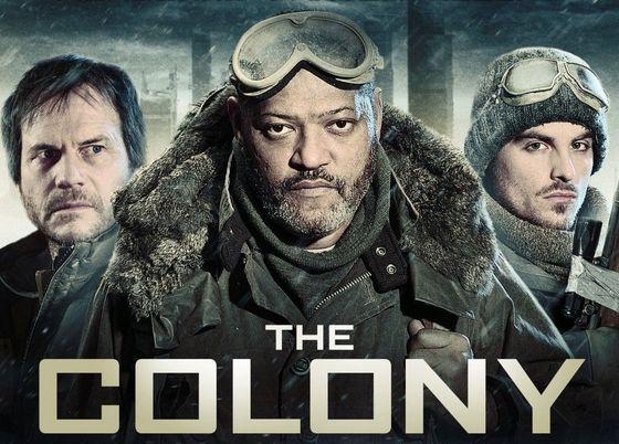 Постер к 3D-триллеру «Колония»