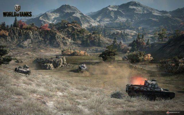 Новогодний марафон World of Tanks: новая техника, акции, скидки, подарки!