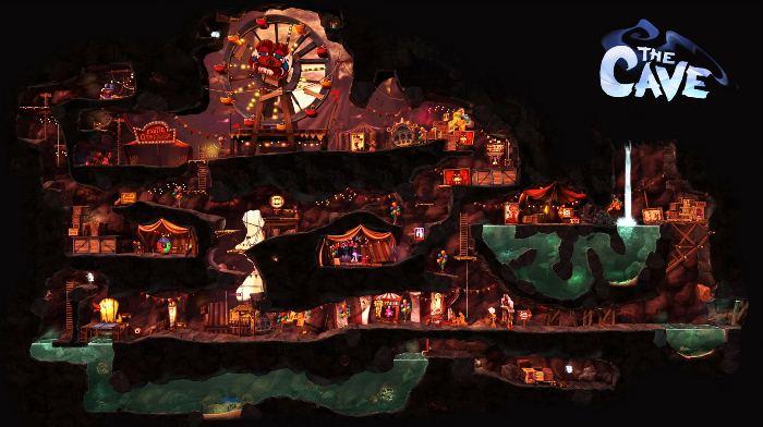 Приключенческая игра The Cave: YouTube стерео 3D-трейлер