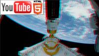 YouTube стерео 3D: как выглядит Земля из космоса