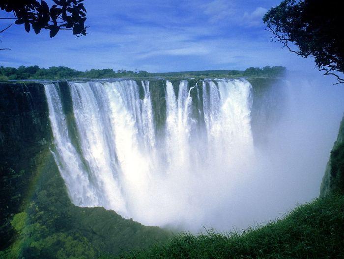 Водопад Виктория: красота и величие на YouTube 3D