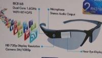 CES 2014: очки-дисплей Smart Glass от Rockchip