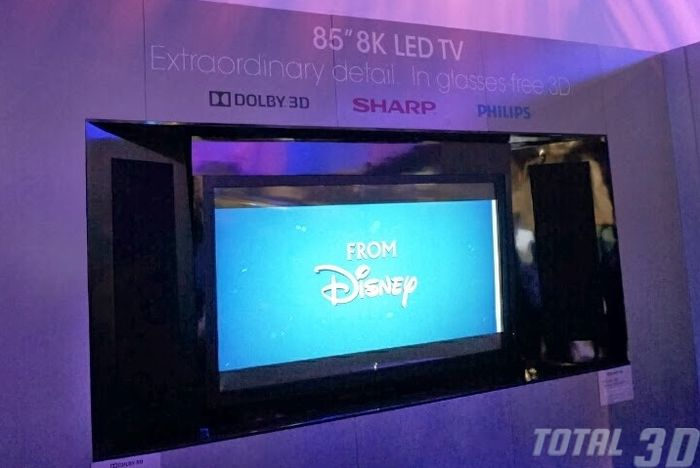 CES 2014: 8K-ТВ без очков и другие новинки от Sharp