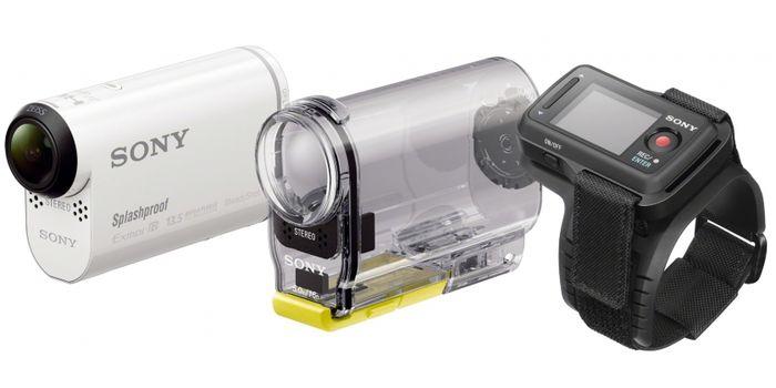 CES 2014: экшен-камера Sony HDR-AS100VR для экстремальных съёмок