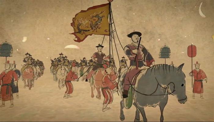 YouTube 3D-трейлер к документалке «Восьмидневный фестиваль» (англ. The 8-Day Festival) о корейской истории