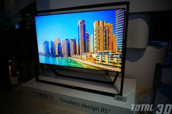 CES 2014: линейка Ultra HD-ТВ от Samsung с поддержкой 3D