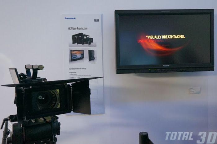 CES 2014: прототип камеры 4K Varicam и 4K-монитор BT-4LH310 от Panasonic