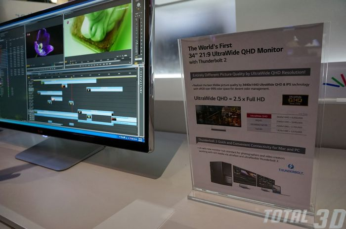 CES 2014: ультраширокие 4K-мониторы LG с соотношением сторон 21:9
