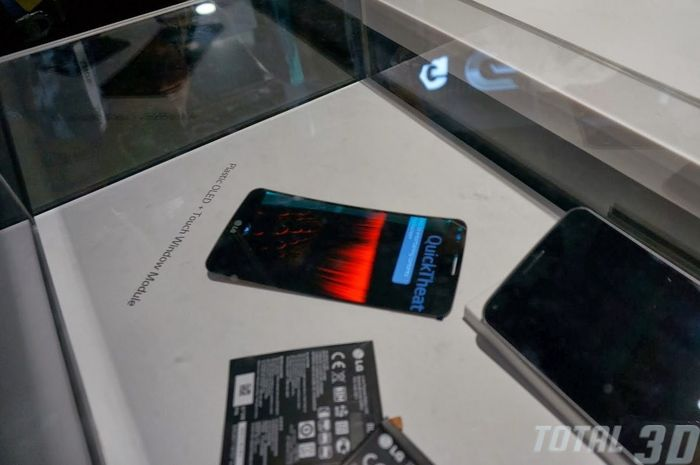 CES 2014: изогнутый смартфон G Flex от LG