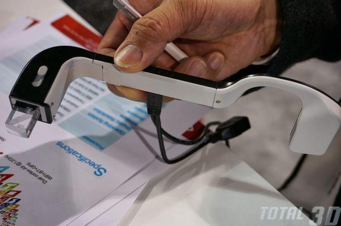 CES 2014: очки дополненной реальности от Rockchip