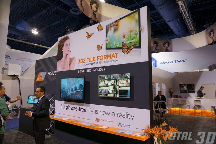 CES 2014: технология стерео 3D-трансляции от Sisvel Technology и Triaxes Vision