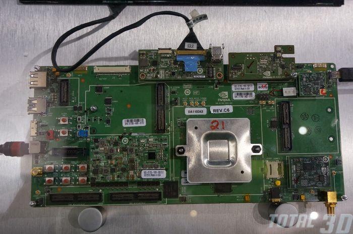 CES 2014: мобильный процессор Tegra K1 от NVIDIA