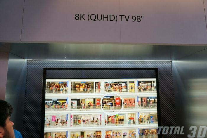 "CES 2014: прототип 98"" 8K-ТВ от Samsung"