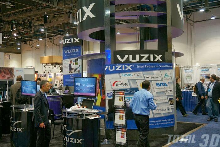 CES 2014: инновационные наушники-дисплей Vuzix V720