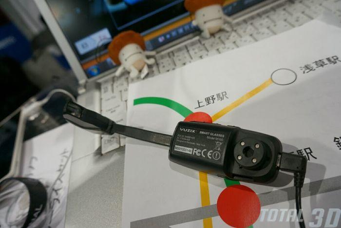 CES 2014: «умные» очки дополненной реальности Vuzix M100 Smart Glasses