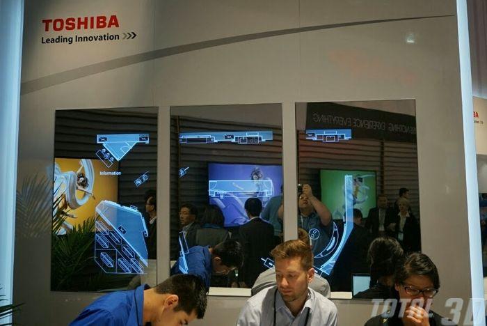 CES 2014: Ultra HD 5K-телевизор и прочие новинки от Toshiba