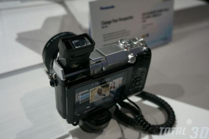 CES 2014: фотостенд Panasonic
