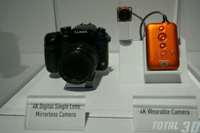 CES 2014: живые фото прототипа надеваемой 4K-камеры от Panasonic