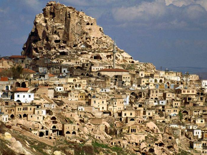 Турецкая Каппадокия: виртуальное путешествие на YouTube 3D