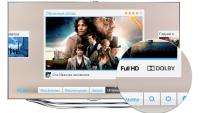 Samsung Smart TV: 3D-фильмы со звуком Dolby Digital Plus