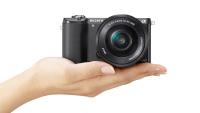 Легкая и компактная фотокамера Sony A5000