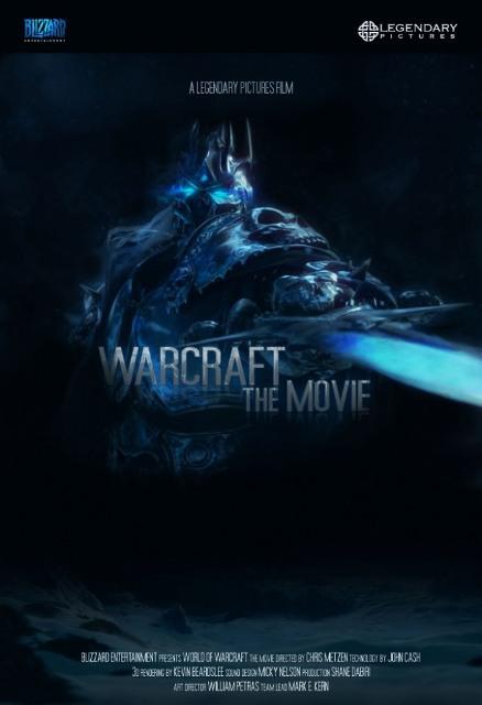 Постер к 3D-боевику «Варкрафт»