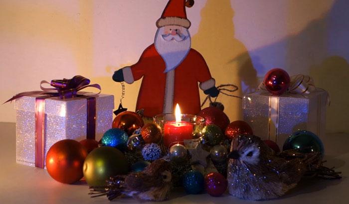 Рождественское настроение на YouTube 3D