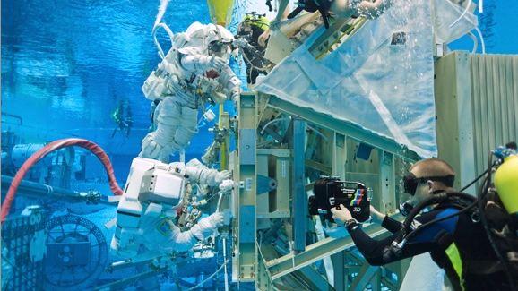 Документальная лента «Встреча в космосе»: из жизни астронавтов в стерео 3D