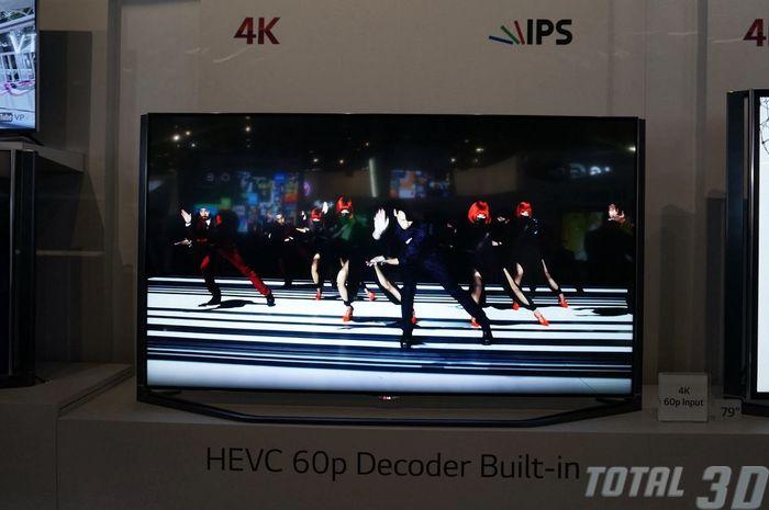 CES 2014: изогнутые 4K-ТВ и Ultra HD 3D-видеостены на стенде LG