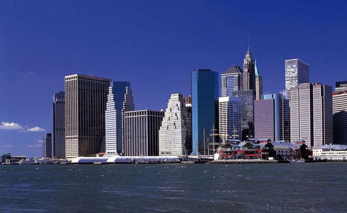 Небоскрёбы Манхеттена: виртуальная прогулка на YouTube 3D