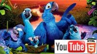 Стерео 3D-мультфильм  «Рио 2»: парочка YouTube стерео 3D-трейлеров