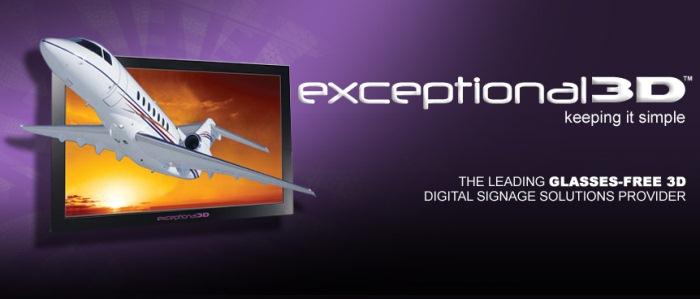 Лондонский аэропорт Хитроу оборудуют автостерео 3D-дисплеями Exceptional 3D
