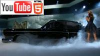 YouTube стерео 3D-клип Кэрри Андервуд «Two Black Cadillacs»