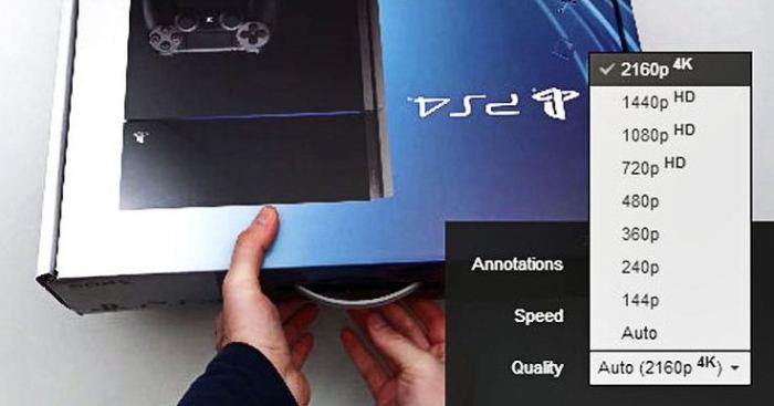 Опция выбора Ultra HD-качества теперь доступна на YouTube