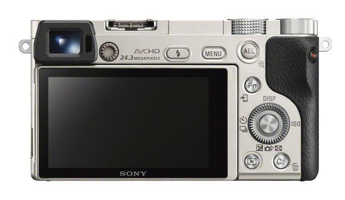 Цифровая беззеркальная фотокамера Sony α6000 с системой быстрого автофокуса