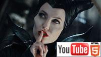 YouTube стерео 3D-трейлер к трёхмерной ленте «Малефисента»