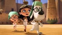 Телевизионный ролик к 3D-мульту «Приключения мистера Пибоди и Шермана»