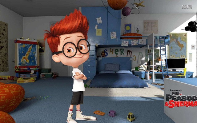 3D-мульт «Приключения мистера Пибоди и Шермана»