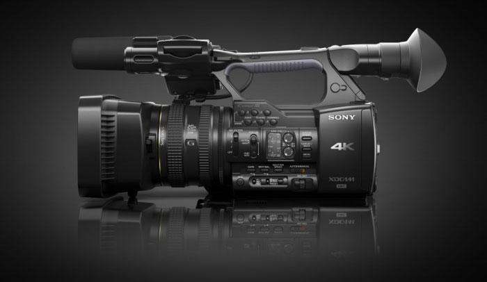 4K-камкордер Sony XDCAM PXW-Z100: обновление прошивки уже доступно