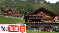 Красота альпийских гор в трёхмерном слайд-шоу на YouTube 3D