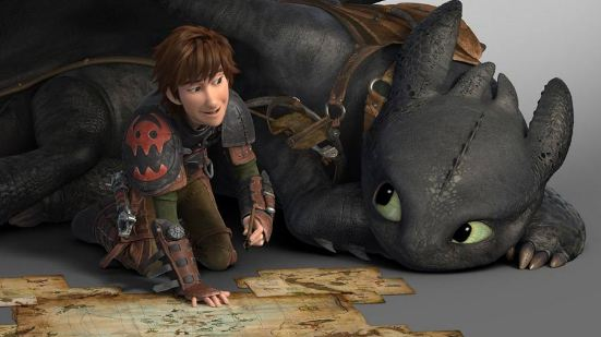 3D-мульт «Как приручить дракона 2»
