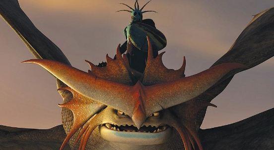 Постер к 3D-мульту «Как приручить дракона 2»