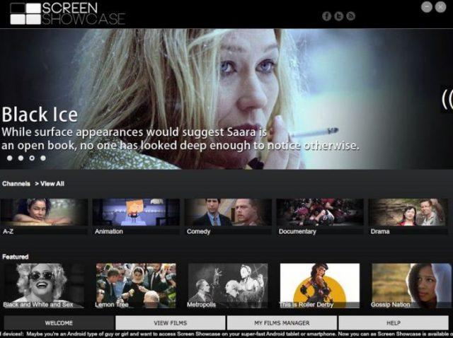 Контент-сервис Screen Showcase: коллекция фильмов для ПК, iOS и Android