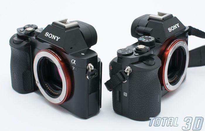 Sony A7 и Sony A7R, внешний вид